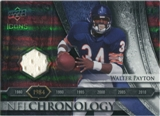 2008 Upper Deck Icons NFL Chronology Jersey Silver #CHR13 Walter Payton /150