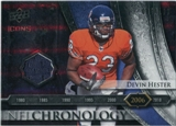 2008 Upper Deck Icons NFL Chronology Jersey Silver #CHR34 Devin Hester /150