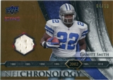 2008 Upper Deck Icons NFL Chronology Jersey Gold #CHR28 Emmitt Smith /50
