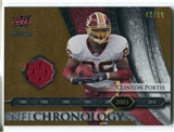 2008 Upper Deck Icons NFL Chronology Jersey Gold #CHR30 Clinton Portis /50