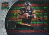 2008 Upper Deck Icons Future Foundations Jersey Silver #FF3 Ben Roethlisberger /199