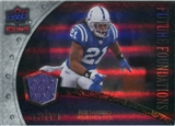 2008 Upper Deck Icons Future Foundations Jersey Silver #FF4 Bob Sanders /199