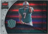 2008 Upper Deck Icons Future Foundations Jersey Silver #FF8 Chad Henne /199