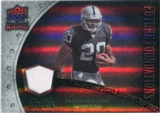 2008 Upper Deck Icons Future Foundations Jersey Silver #FF10 Darren McFadden /199