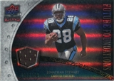 2008 Upper Deck Icons Future Foundations Jersey Silver #FF17 Jonathan Stewart /199
