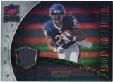 2008 Upper Deck Icons Future Foundations Jersey Silver #FF22 Matt Forte /199