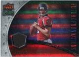 2008 Upper Deck Icons Future Foundations Jersey Silver #FF23 Matt Ryan /199