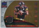 2008 Upper Deck Icons Future Foundations Jersey Gold #FF3 Ben Roethlisberger /75