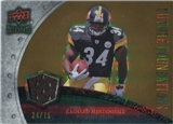 2008 Upper Deck Icons Future Foundations Jersey Gold #FF24 Rashard Mendenhall /75