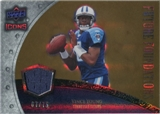 2008 Upper Deck Icons Future Foundations Jersey Gold #FF25 Vince Young /75