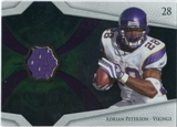 2008 Upper Deck Icons Future Stars Materials #FSM1 Adrian Peterson