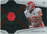 2008 Upper Deck Icons Future Stars Materials #FSM2 Dwayne Bowe