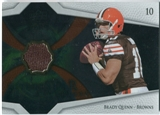 2008 Upper Deck Icons Future Stars Materials #FSM3 Brady Quinn