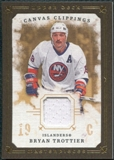 2008/09 Upper Deck UD Masterpieces Canvas Clippings Brown #CCBT Bryan Trottier