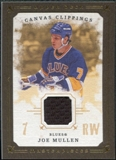 2008/09 Upper Deck UD Masterpieces Canvas Clippings Brown #CCJM2 Joe Mullen