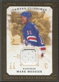 2008/09 Upper Deck UD Masterpieces Canvas Clippings Brown #CCMM2 Mark Messier