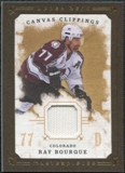 2008/09 Upper Deck UD Masterpieces Canvas Clippings Brown #CCRB1 Ray Bourque