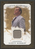 2008/09 Upper Deck UD Masterpieces Canvas Clippings Brown #CCSB2 Scotty Bowman