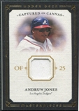 2008 Upper Deck UD Masterpieces Captured on Canvas #AJ Andruw Jones