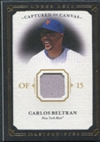 2008 Upper Deck UD Masterpieces Captured on Canvas #BE Carlos Beltran