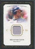2008 Upper Deck UD Masterpieces Captured on Canvas #BM Brian McCann