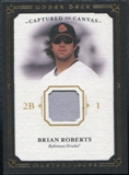 2008 Upper Deck UD Masterpieces Captured on Canvas #BR Brian Roberts