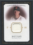 2008 Upper Deck UD Masterpieces Captured on Canvas #CA Matt Cain