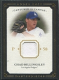 2008 Upper Deck UD Masterpieces Captured on Canvas #CB Chad Billingsley