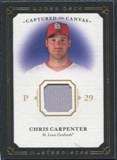 2008 Upper Deck UD Masterpieces Captured on Canvas #CC Chris Carpenter