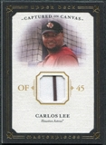 2008 Upper Deck UD Masterpieces Captured on Canvas #CL Carlos Lee