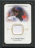 2008 Upper Deck UD Masterpieces Captured on Canvas #CS C.C. Sabathia