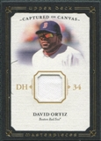 2008 Upper Deck UD Masterpieces Captured on Canvas #DO David Ortiz