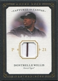 2008 Upper Deck UD Masterpieces Captured on Canvas #DW Dontrelle Willis