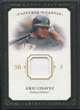 2008 Upper Deck UD Masterpieces Captured on Canvas #EC Eric Chavez