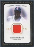 2008 Upper Deck UD Masterpieces Captured on Canvas #EM Eddie Murray