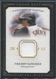 2008 Upper Deck UD Masterpieces Captured on Canvas #FS Freddy Sanchez