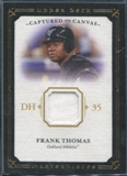 2008 Upper Deck UD Masterpieces Captured on Canvas #FT Frank Thomas