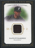 2008 Upper Deck UD Masterpieces Captured on Canvas #HR Hanley Ramirez