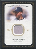 2008 Upper Deck UD Masterpieces Captured on Canvas #JE Derek Jeter