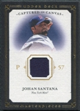 2008 Upper Deck UD Masterpieces Captured on Canvas #JS Johan Santana