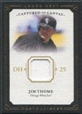 2008 Upper Deck UD Masterpieces Captured on Canvas #JT Jim Thome