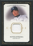 2008 Upper Deck UD Masterpieces Captured on Canvas #KJ Kenji Johjima