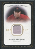 2008 Upper Deck UD Masterpieces Captured on Canvas #LB Lance Berkman