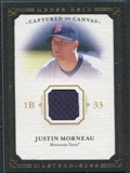 2008 Upper Deck UD Masterpieces Captured on Canvas #MO Justin Morneau