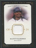 2008 Upper Deck UD Masterpieces Captured on Canvas #MR Manny Ramirez