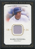 2008 Upper Deck UD Masterpieces Captured on Canvas #MT Mark Teixeira