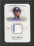 2008 Upper Deck UD Masterpieces Captured on Canvas #RB Ryan Braun
