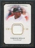 2008 Upper Deck UD Masterpieces Captured on Canvas #VW Vernon Wells