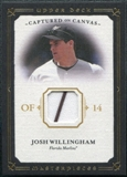 2008 Upper Deck UD Masterpieces Captured on Canvas #WI Josh Willingham