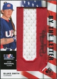 2008 Upper Deck SP Authentic USA National Team By the Letter Autographs #BS Blake Smith /105